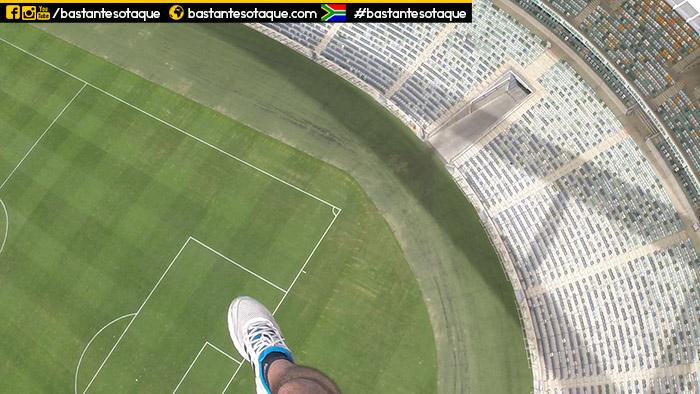 Salto no estádio de Durban - Swing Jump - África do Sul