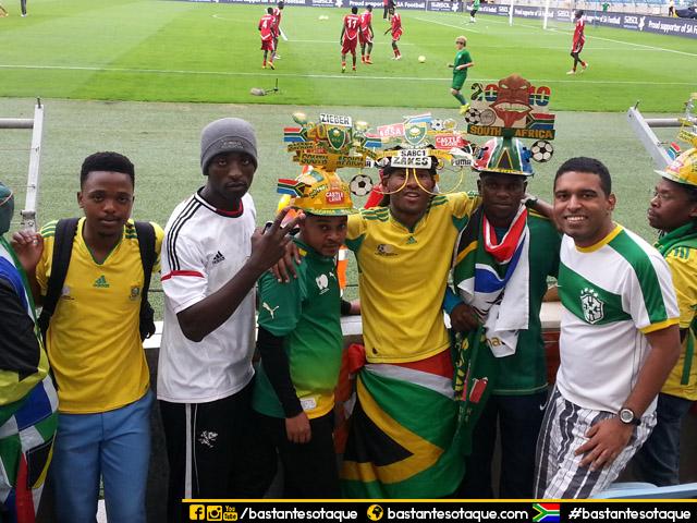 Jogo de futebol em Durban, África do Sul