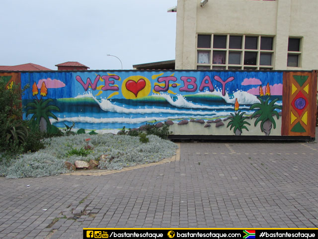 Muro/pintura em Jeffreys Bay