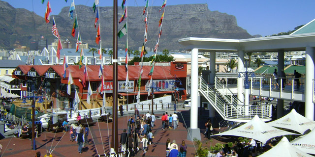 Shopping Waterfront - Cape Town, África do Sul