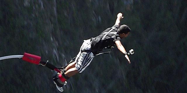 Bungee jump na África do Sul