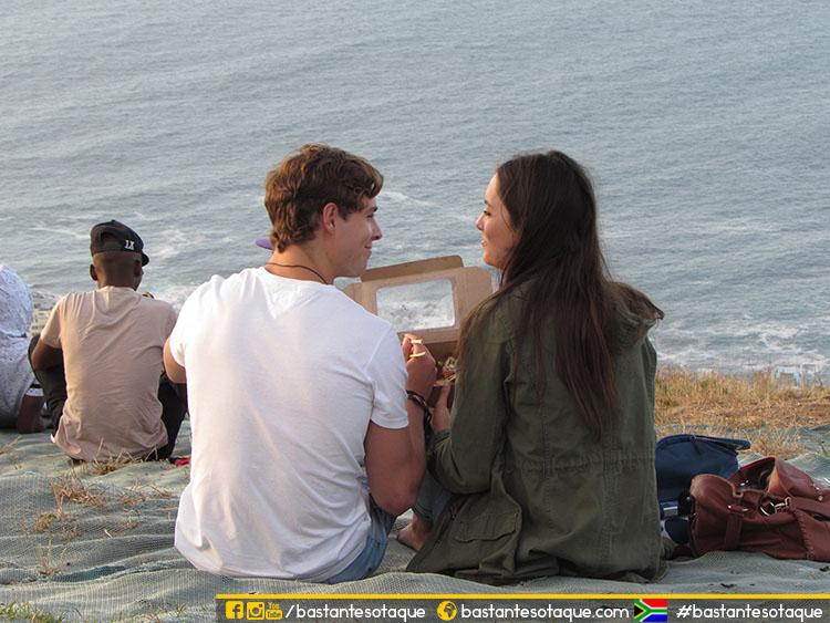 Dicas de Cape Town - Por do Sol na Signal Hill