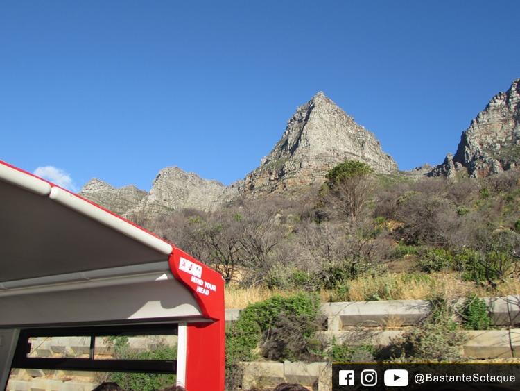 Tour do ônibus vermelho - Cidade do Cabo/Cape Town, África do Sul