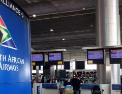 O voo de maio com a SAA foi o mais tranquilo entre todas as viagens para a África do Sul