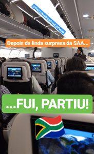 Voo da South African Airways (SAA)