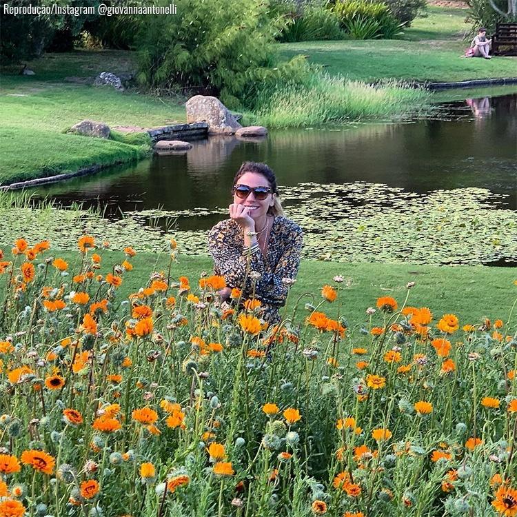 Giovanna Antonelli - Jardim Botânico de Kirstenbosch - Cape Town, África do Sul