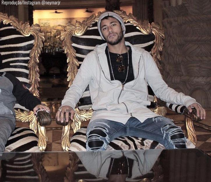 Neymar na África do Sul