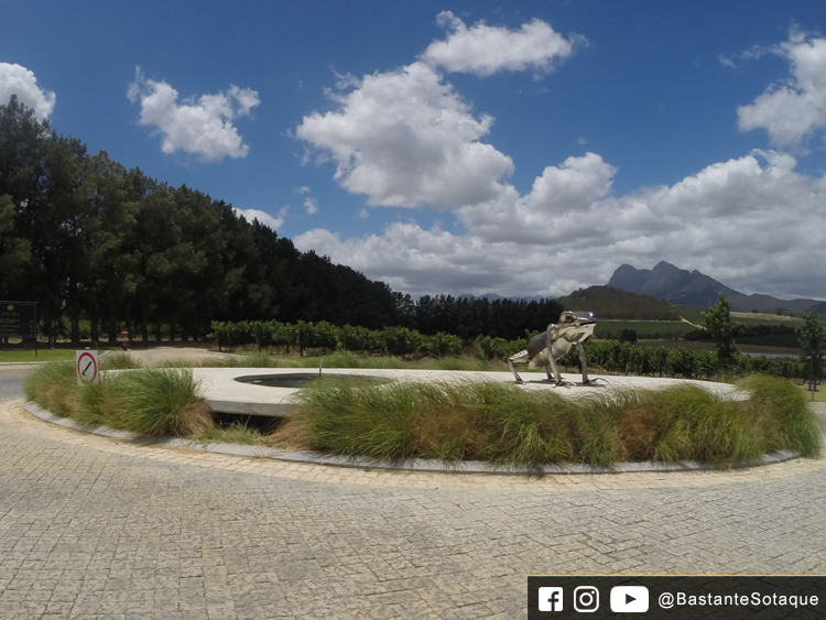 Vinícola Anura - Klapmuts/Stellenbosch, África do Sul