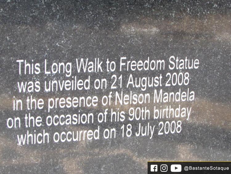 Estátua do Nelson Mandela - Drakenstein Correctional Centre, África do Sul