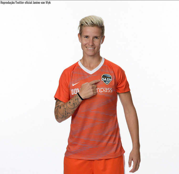 Janine van Wyk - Houston Dash