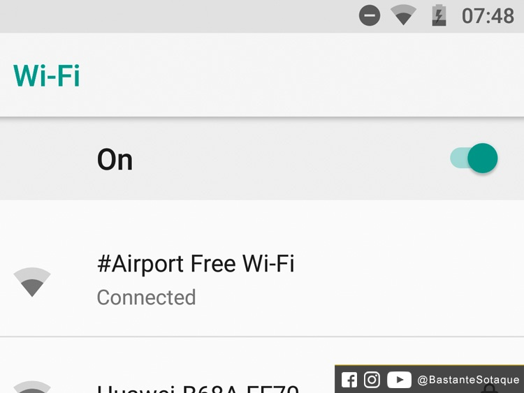 Wi-fi no Aeroporto OR Tambo de Joanesburgo