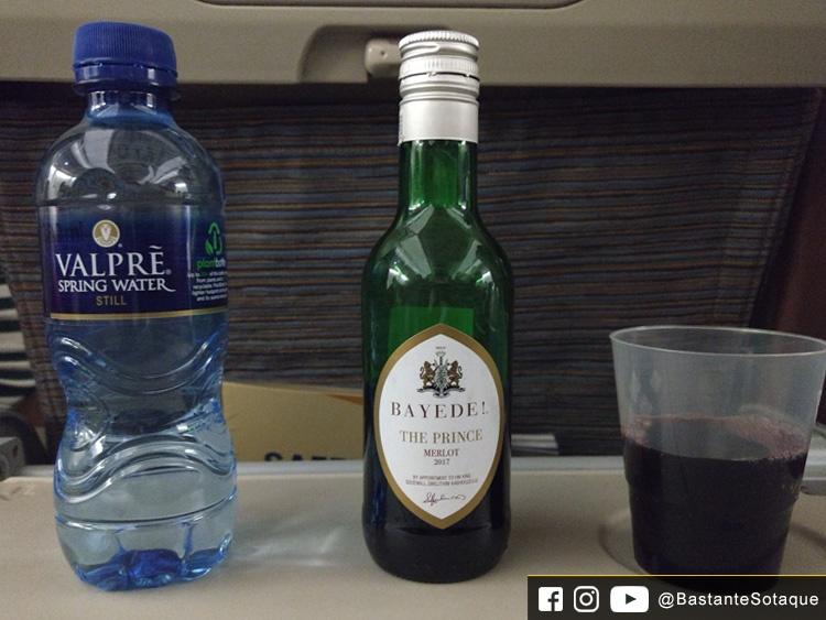 Refeições - South African Airways (SAA)