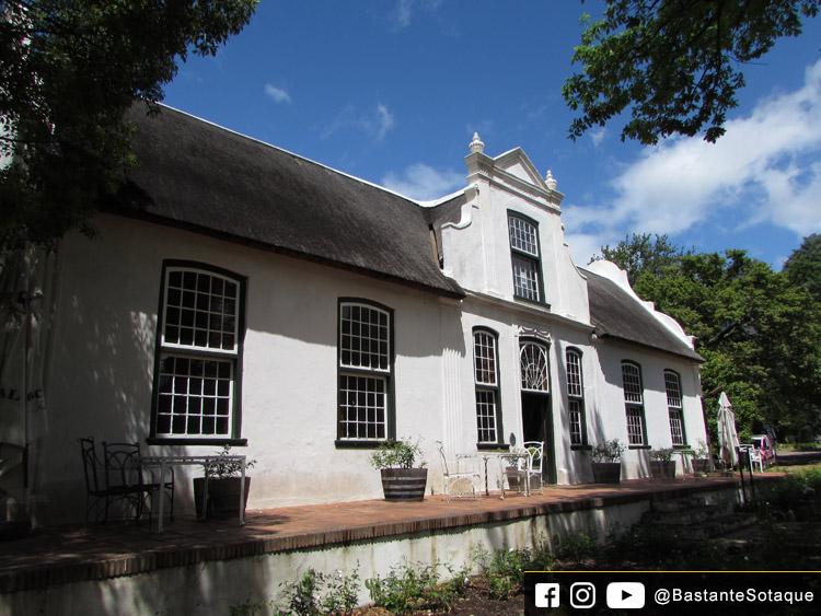 Vinícola Boschendal - Franschhoek, África do Sul