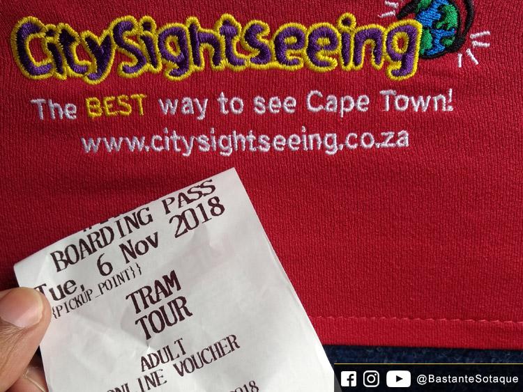 City Sightseeing e Wine Tram - Bilheteria do City Sightseeing Bus - Cidade do Cabo/Cape Town, África do Sul