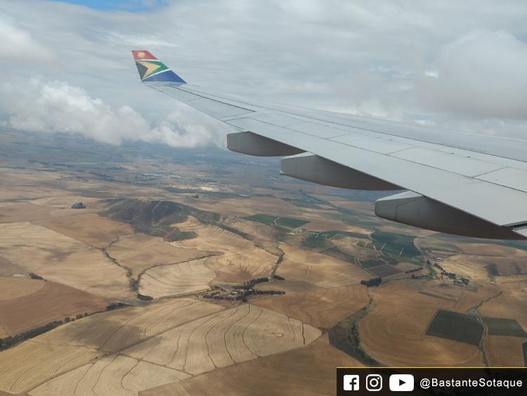 Voo Joanesburgo-Cape Town - South African Airways (SAA)