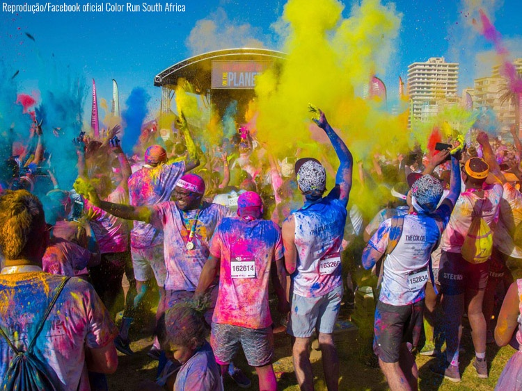 Color Run - Cidade do Cabo/Cape Town, África do Sul