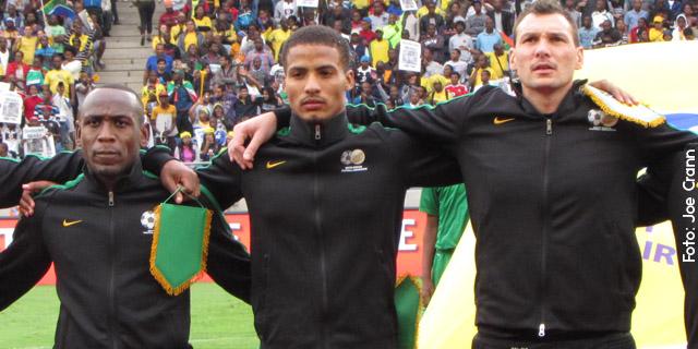 Jogo da seleção da África do Sul em Durban - Foto: Joe Crann