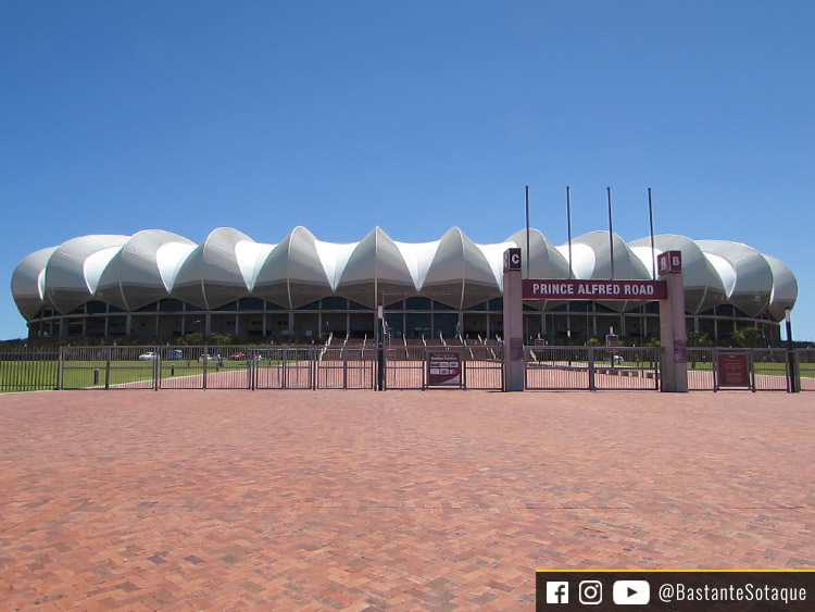 Estádio Nelson Mandela Bay - Port Elizabeth, África do Sul