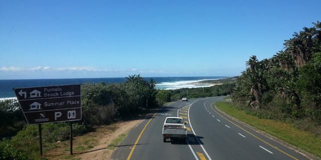 Estrada - Indo de Durban para Coffee Bay