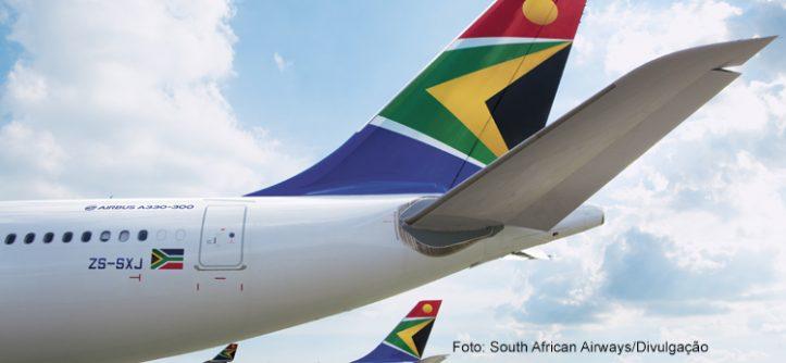 SAA e Latam: Dicas do aeroporto de Joanesburgo; parceria SAA e Smiles; megapromo