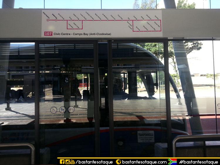 Transporte em Cape Town: Ônibus