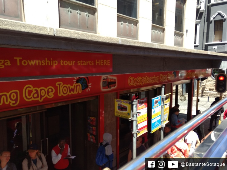Base do City Sightseeing - Long Street - Cidade do Cabo/Cape Town, África do Sul