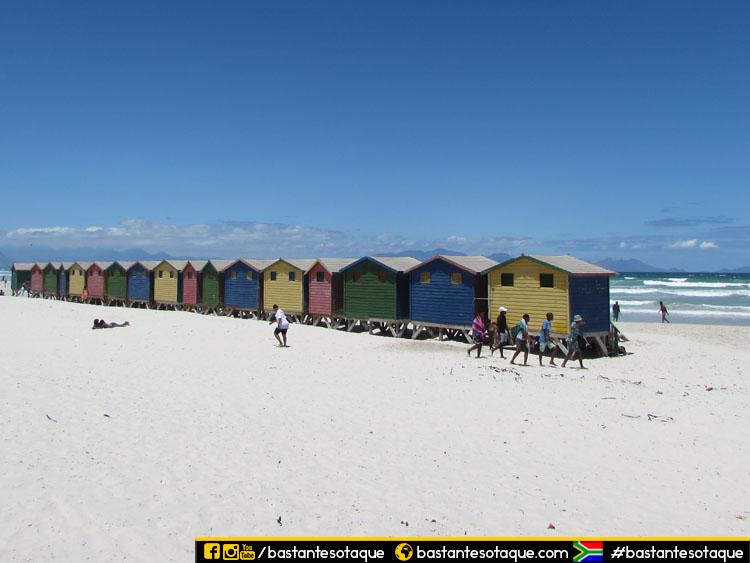 Praia de Muizenberg - Cape Town/Cidade do Cabo, África do Sul