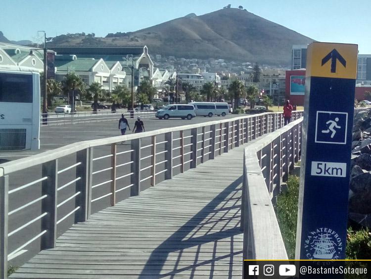 Pista de corrida - V&A Waterfront - Cidade do Cabo/Cape Town, África do Sul