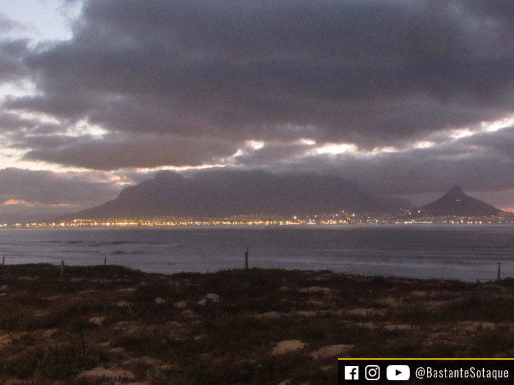 Praia de Blouberg - Cidade do Cabo/Cape Town, África do Sul