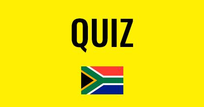 Quiz sobre a África do Sul: teste seus conhecimentos