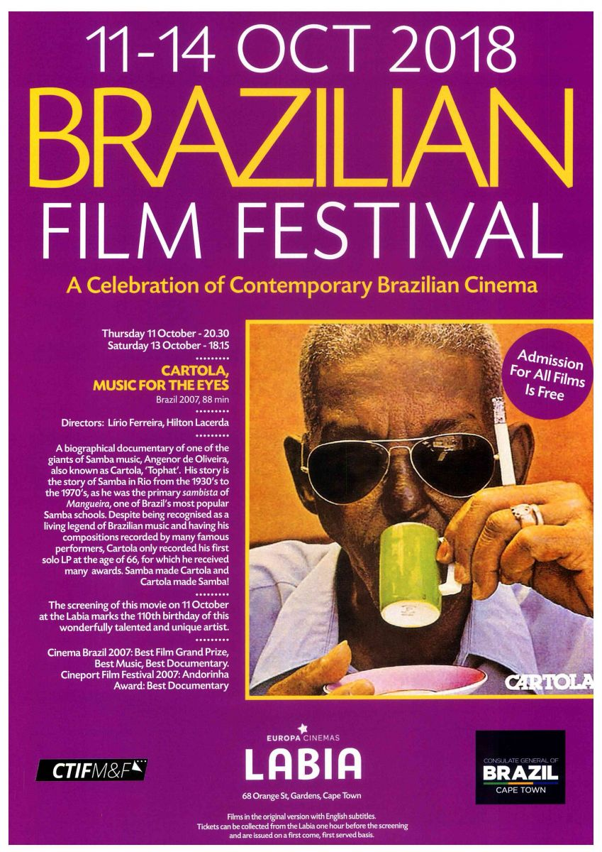 Brazilian Film Festival - Cidade do Cabo/Cape Town, África do Sul