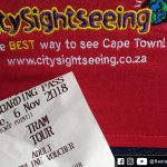 City Sightseeing e Wine Tram - Bilheteria do City Sightseeing Bus - Cidade do Cabo/Cape Town, África do Sul