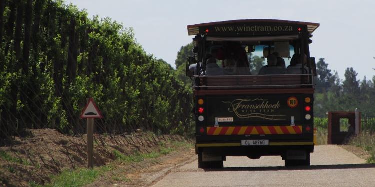 Wine Tram - Franschhoek, África do Sul