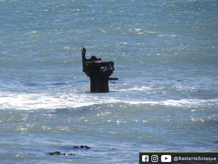 Naufrágio em Mouille Point - Cidade do Cabo, África do Sul