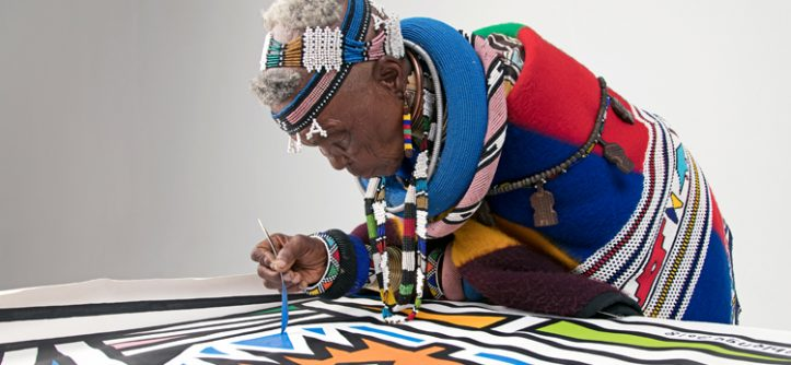 Esther Mahlangu - África do Sul