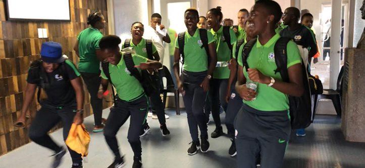 Vídeo da seleção feminina da África do Sul