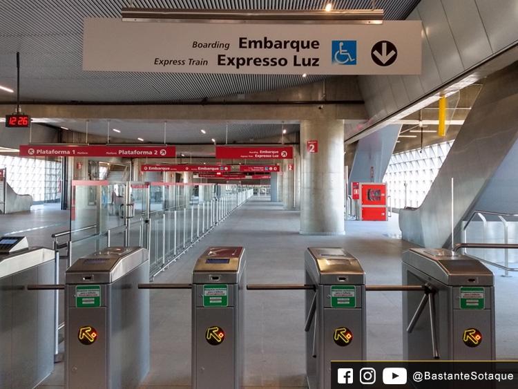 Estação de trem Aeroporto-Guarulhos
