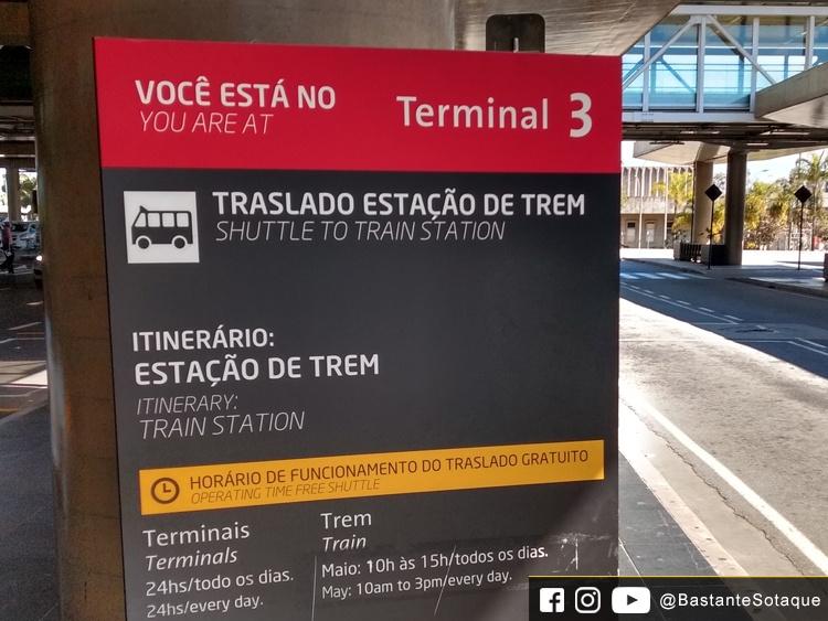 Aeroporto de Guarulhos - Estação de Trem