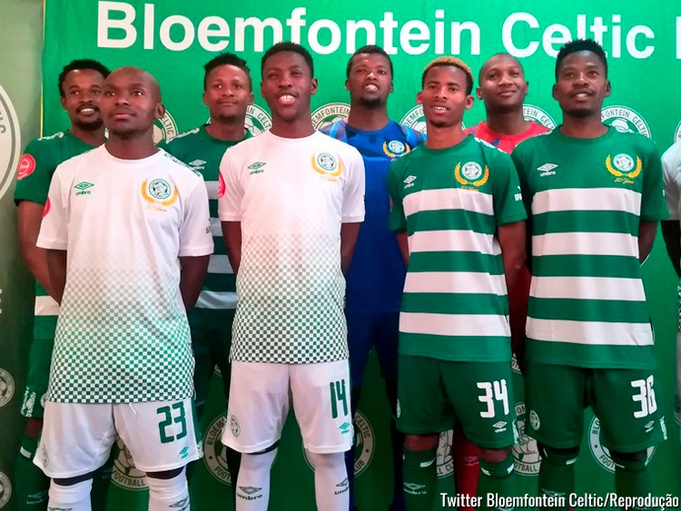 Camisa do Bloemfontein Celtic