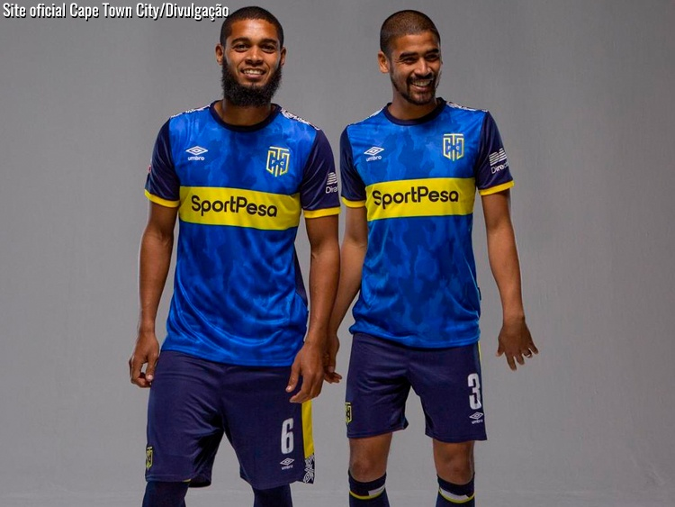 Camisa do Cape Town City FC