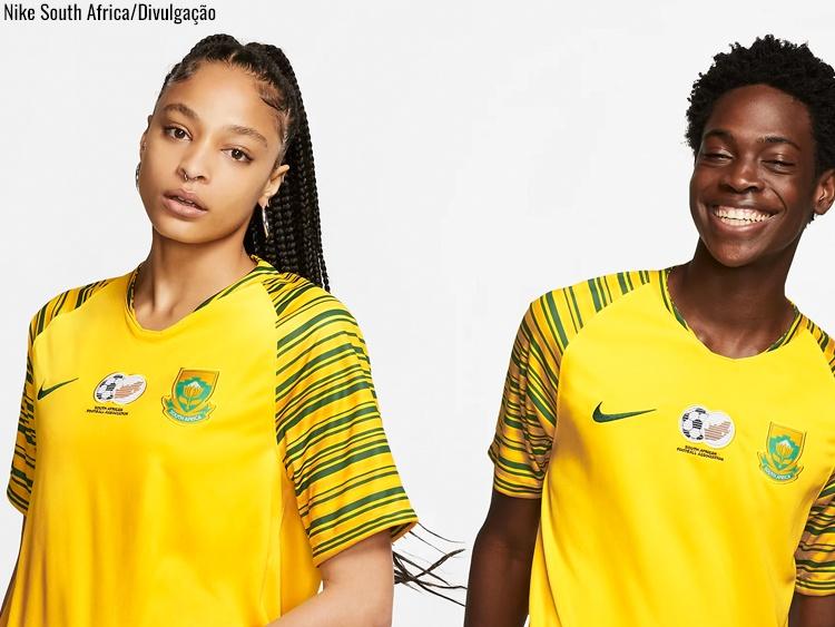 Camisa da seleção da África do Sul